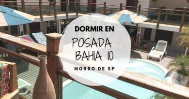 Dormir en la Posada Bahia 10 en Morro