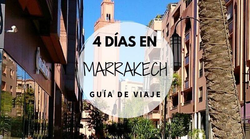 Viajar a Marrakech en 4 días