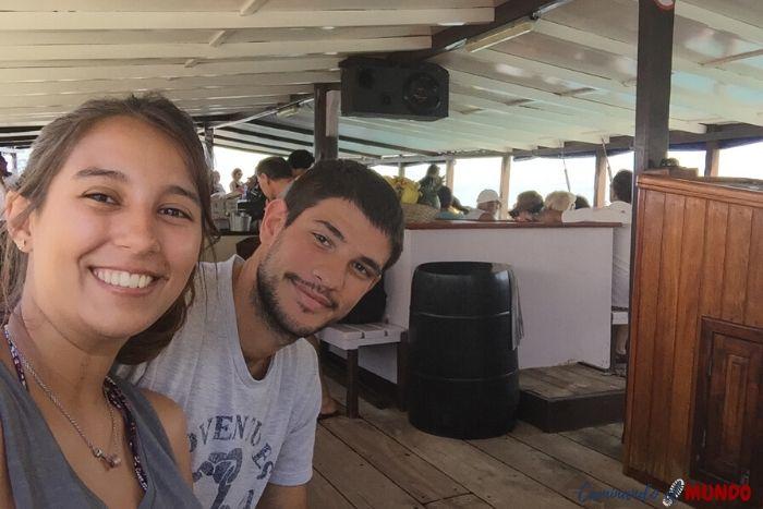 Barco a Ilha Dos Frades