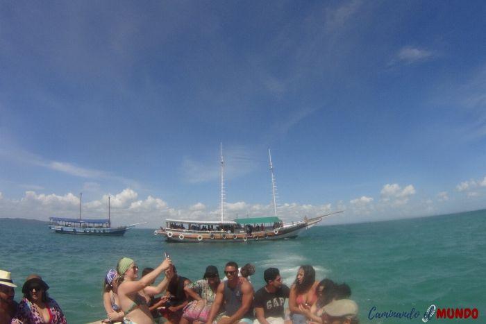 Barco a Itaparica con excursión