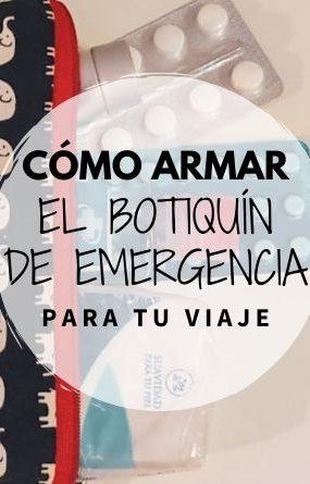 Cómo armar un botiquín de emergencia