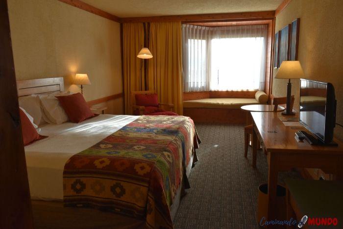 Habitación del Hotel Mirador del Lago
