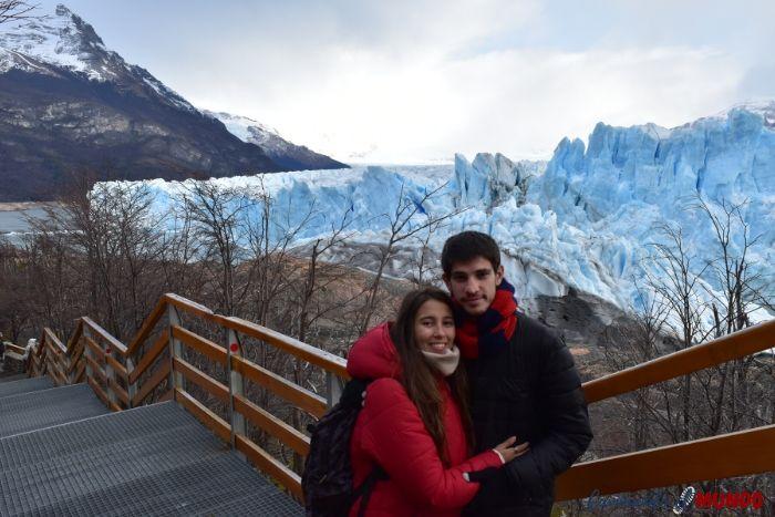 Visitando el Glaciar Perito Moreno