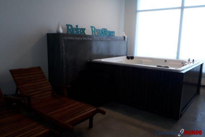 Sauna en Hotel en Puerto Madryn