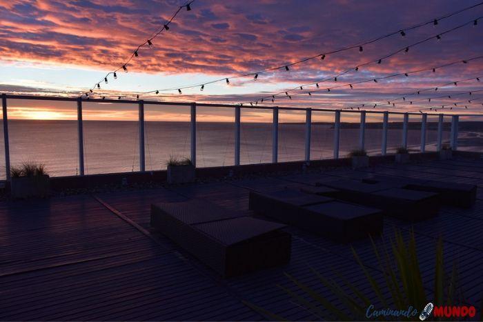 Terraza del Hotel Dazzler Puerto Madryn