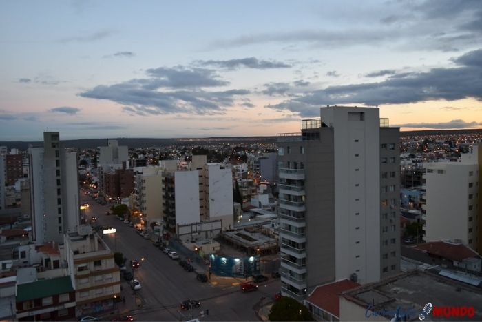 Vista de la ciudad de Puerto Madryn