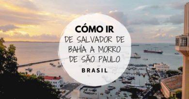 Como ir de Salvador a Morro de Sao Paulo