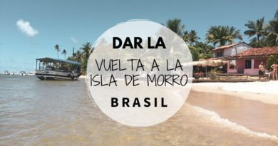 Vuelta a la Isla de Morro de Sao Paulo