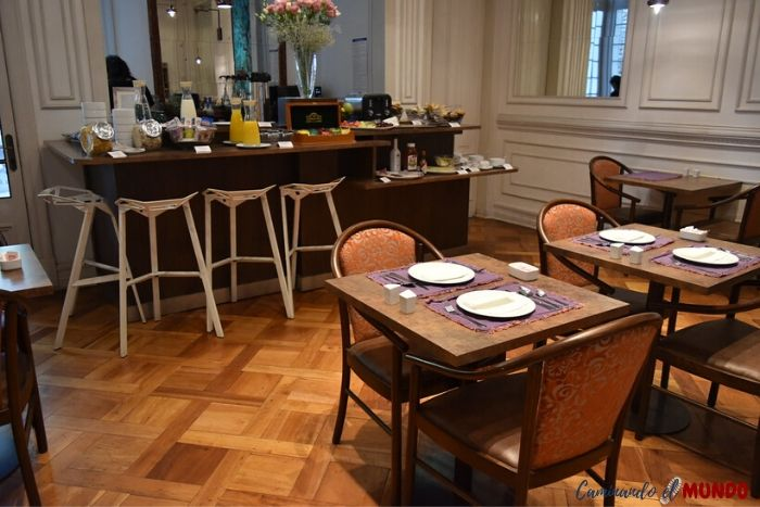 Desayunador del Hotel Matildas