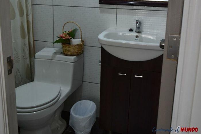 Baño de la Habitación de La Sastreria