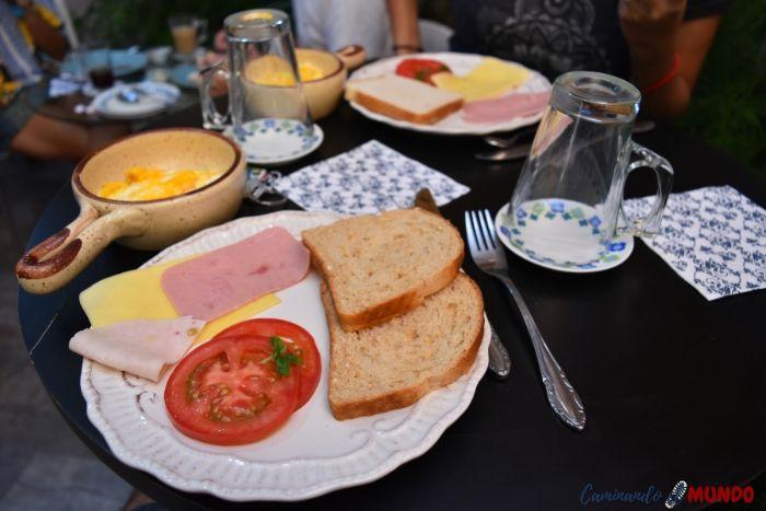 Desayunando en La Sastreria