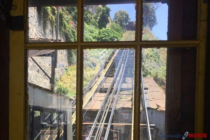 Ascensor del Cerro Artillería en Valparaíso