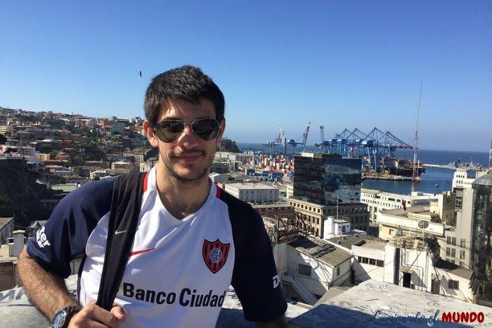 Cerro Alegre en Valparaíso