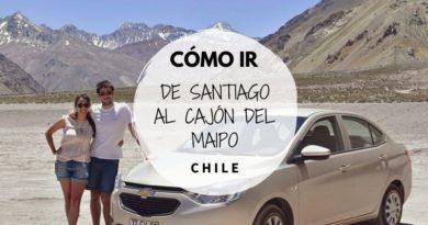 De Santiago al Cajón del Maipo