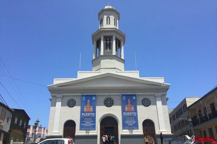 Iglesia Matriz en Valparaíso