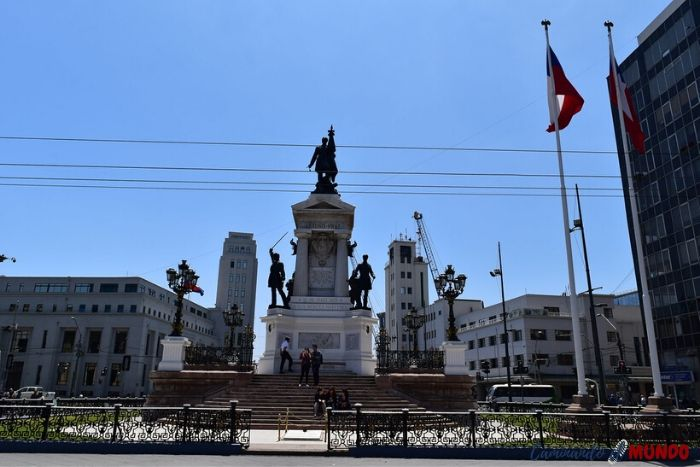 Plaza Soto Mayor en Valparaíso