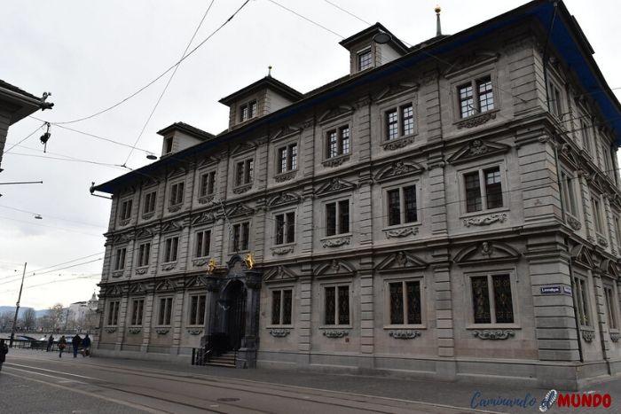 Barrio de Rathaus en Zurich