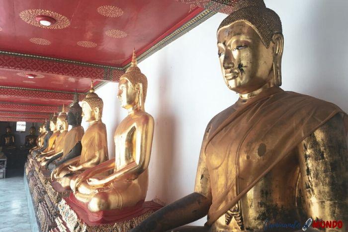 Budas en el Wat Pho
