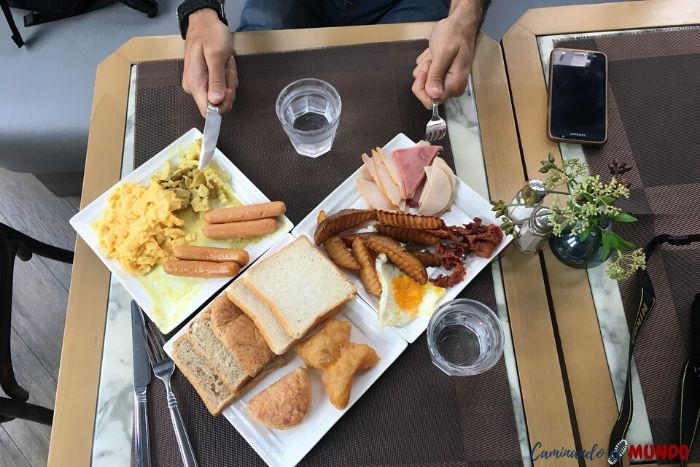 Desayuno de campeones en el Hotel Vince