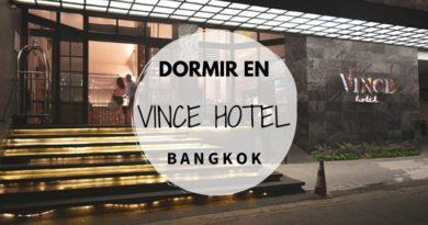 Dormir en Bangkok en el Hotel Vince