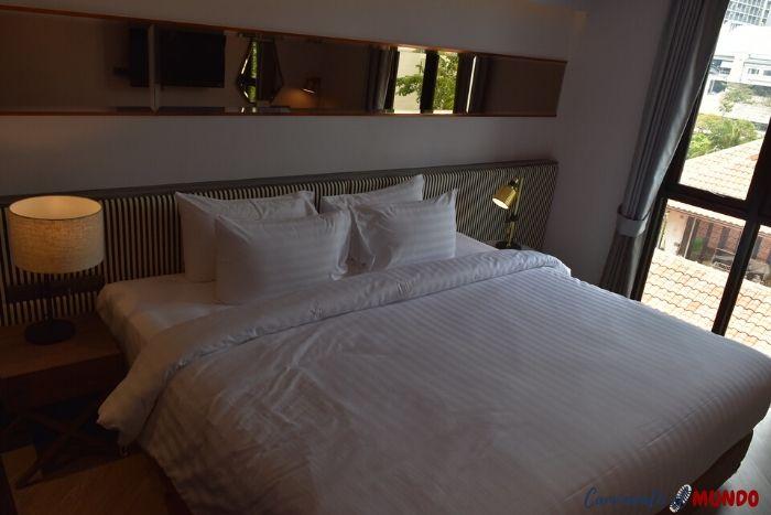 Habitación del Hotel Vince