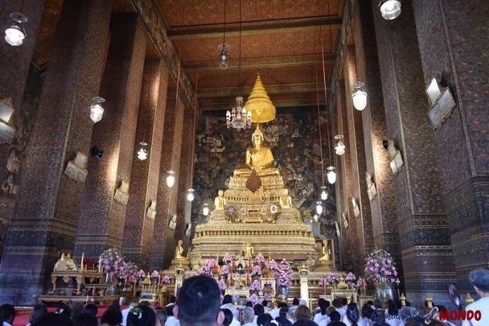 Phra Ubosot en el Wat Pho