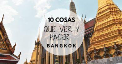10 cosas que ver en Bangkok