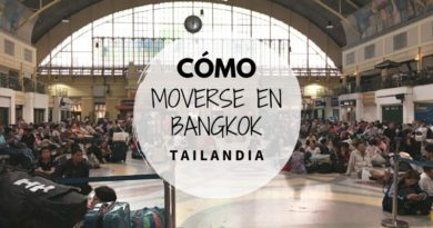 Cómo moverse en Bangkok Tailandia