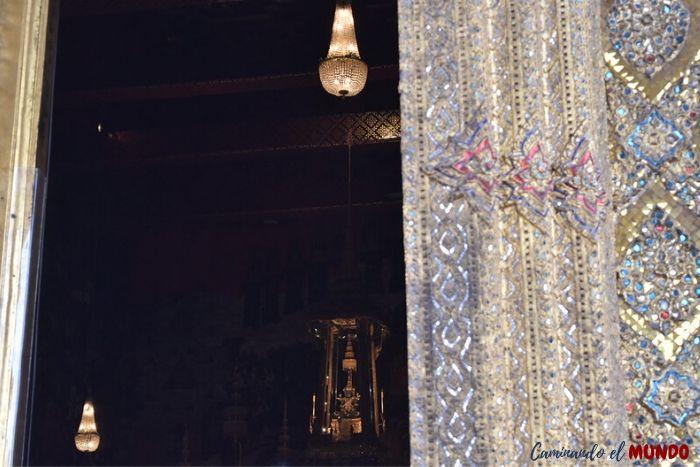Wat Phra Kaew o buda esmeralda en el Gran Palacio