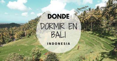 Donde dormir en Bali