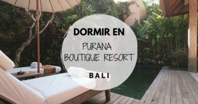 Dormir en Bali - Hotel Purana Boutique Resort