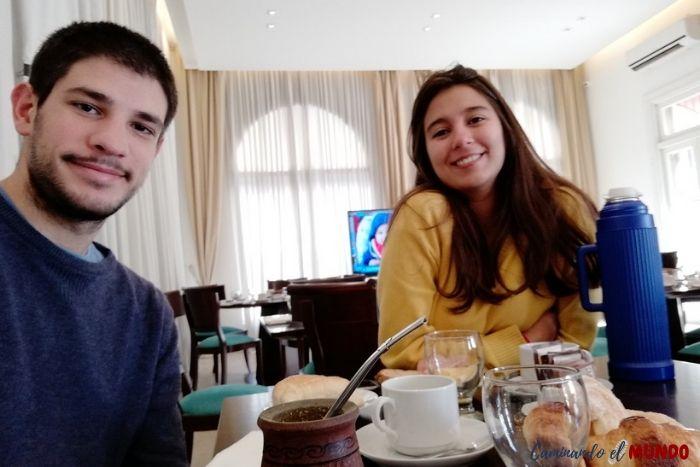Desayuno del Real Hotel Lujan