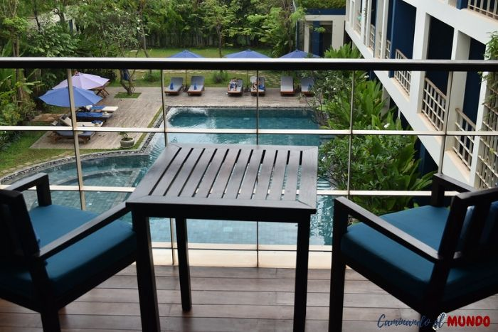 Balcon de Sakmut hotel dormir en Siem Reap