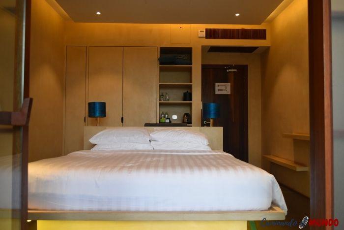Habitación Sakmut Boutique Hotel dormir en Siem Reap