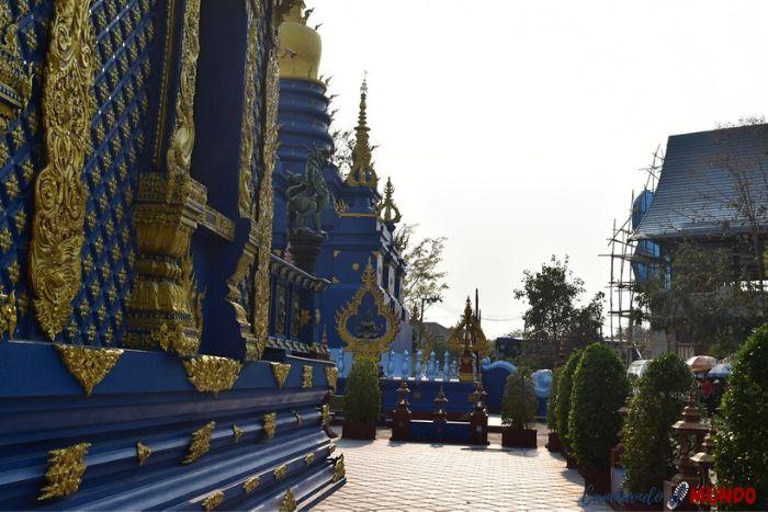 Lateral del Templo Azul