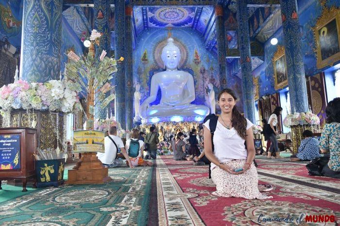Templo azul de Chiang Rai Tailandia