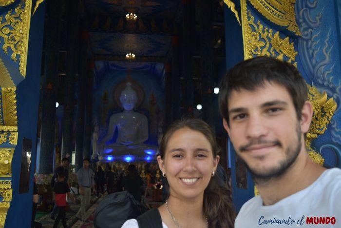 Templo azul en Chiang Rai