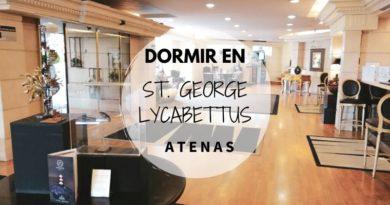 Dormir en Atenas en el hotel St. George Lycabettus