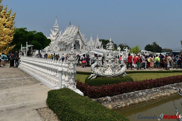 Templo Blanco lleno