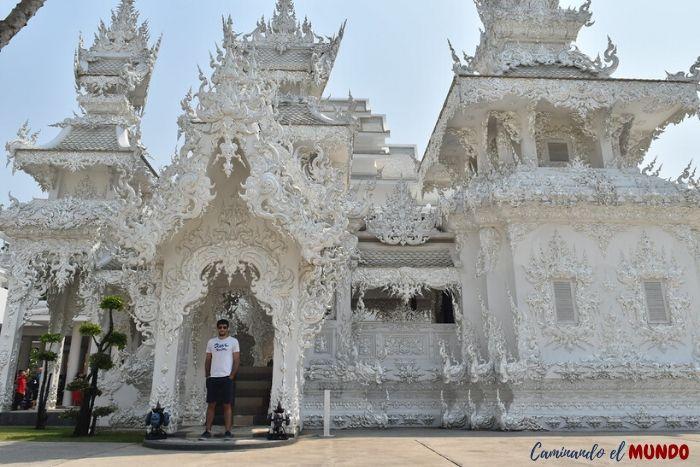 Templo Blanco y sus alrededores
