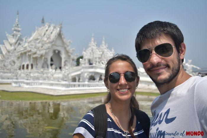 Visitando el Templo Blanco de Chiang Rai