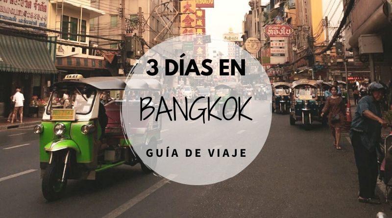 VIajar a Bangkok en 3 días
