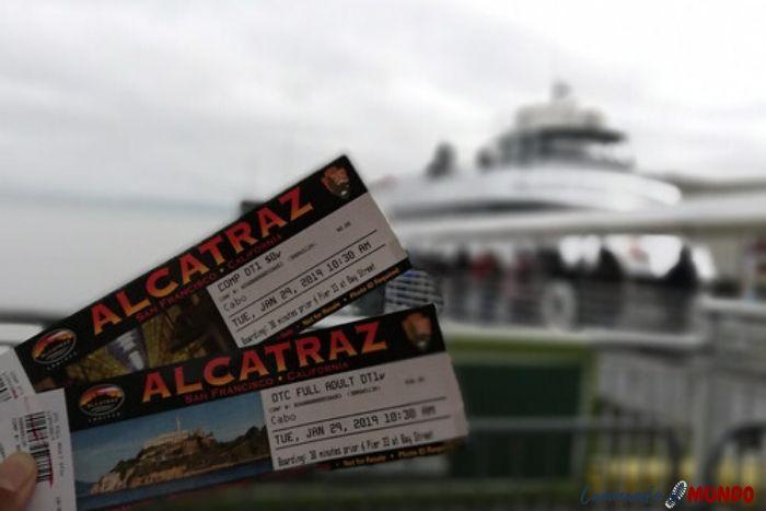 Entradas a Alcatraz