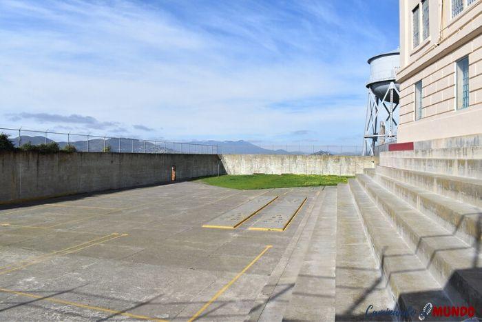 Patio de la cárcel de Alcatraz