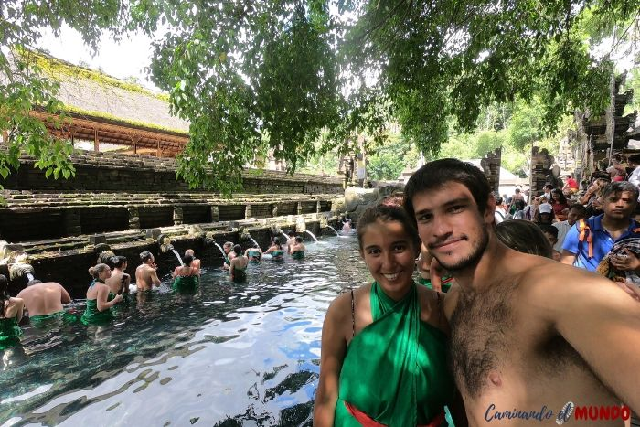 Templo de Purificación en Bali