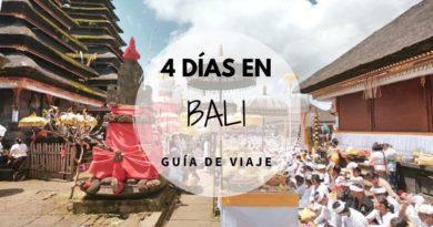 Viajar a Bali en 4 días