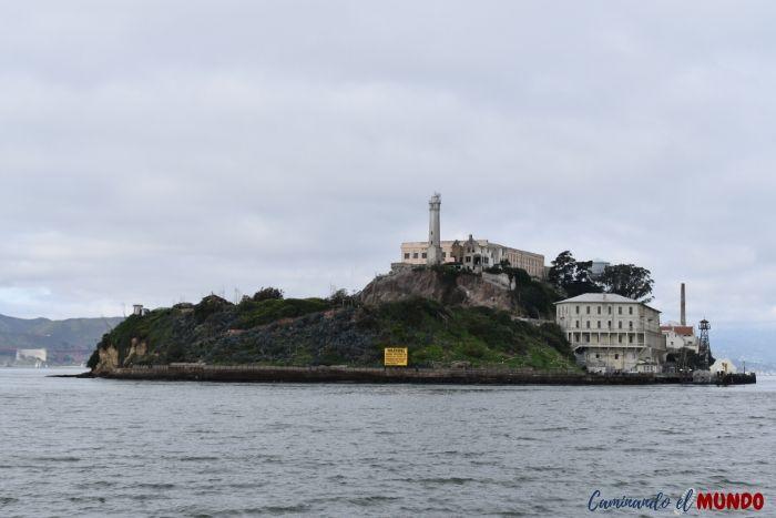 Isla de Alcatraz en nuestra ruta por la costa oeste