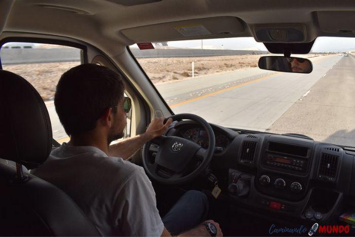 Conducir un motorhome en Estados Unidos