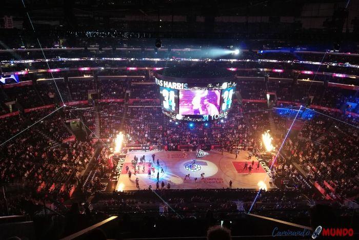 Partido de la NBA en Los Angeles, ruta por la Costa Oeste