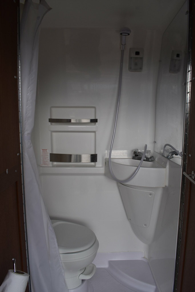Baño del motorhome